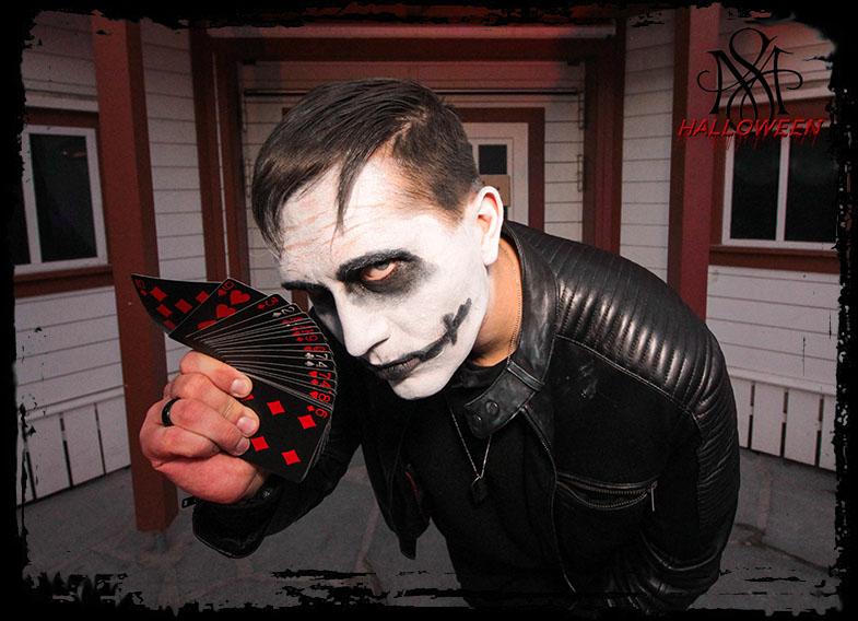 Zauberer für Ihre Halloween Party