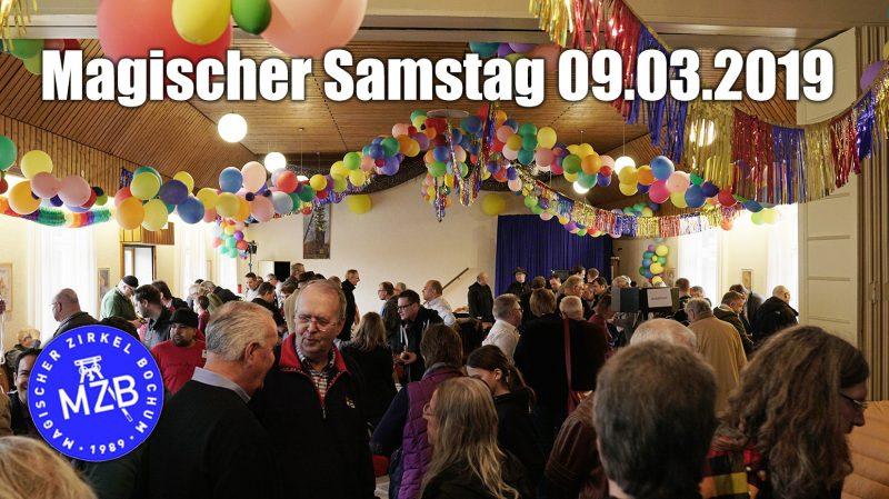 Magischer Samstag Magischer Zirkel Bochum