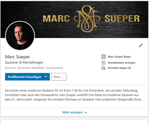 Marc Sueper Linkedin