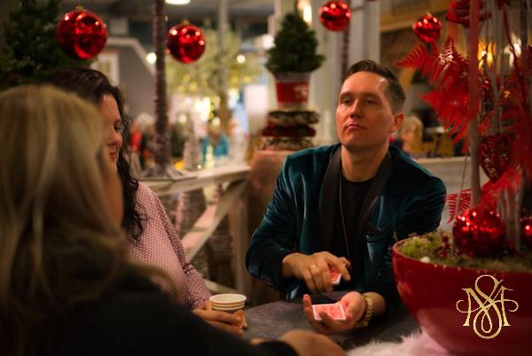 Zauberer Marc Sueper Weihnachtsfeier